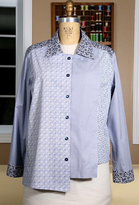 Shirtmaking: Buttoning Down the Basics EmmaOneSock Sewing Tutorials